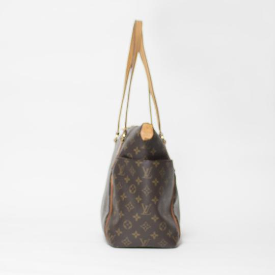 Louis Vuitton Totally Mm Monogram Tote in Brown Image 4
