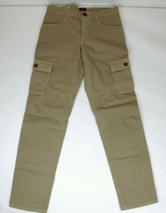 Gucci Khaki Children's Washed Cotton Gabardine Pant 10 Years 409564 9020 Groomsman Gift