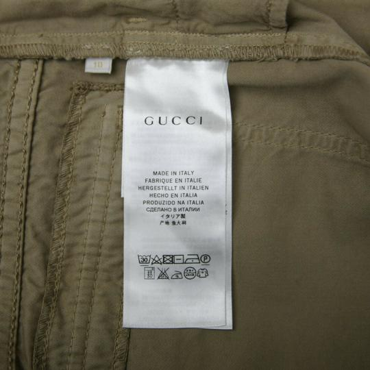 Gucci Khaki Children's Washed Cotton Gabardine Pant 10 Years 409564 9020 Groomsman Gift Image 10