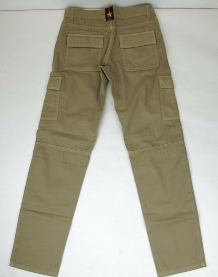 Gucci Khaki Children's Washed Cotton Gabardine Pant 10 Years 409564 9020 Groomsman Gift Image 2