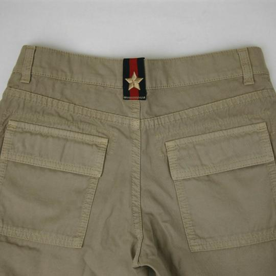Gucci Khaki Children's Washed Cotton Gabardine Pant 10 Years 409564 9020 Groomsman Gift Image 6