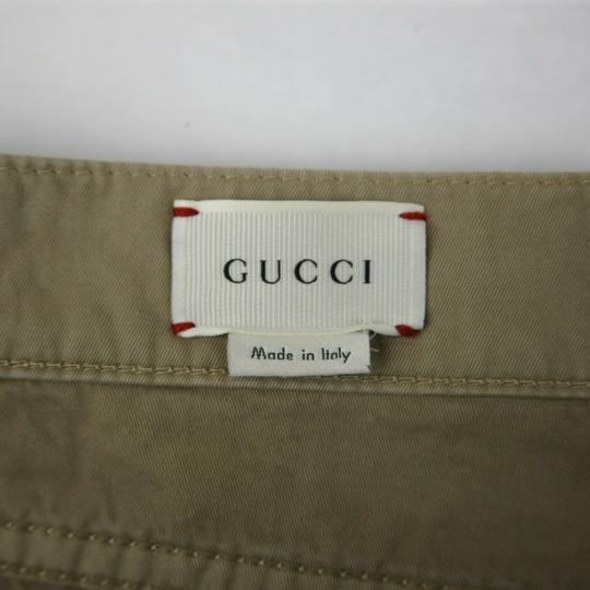 Gucci Khaki Children's Washed Cotton Gabardine Pant 10 Years 409564 9020 Groomsman Gift Image 8