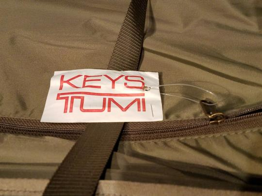 Tumi Wheel Hartmann Muholland Brothers Nylon OLIVE GREEN( TAUPE) Travel Bag Image 6