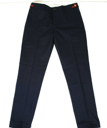 Preload https://img-static.tradesy.com/item/25149944/gucci-navy-stretch-cotton-gabardine-pant-wweb-12-years-452284-4277-groomsman-gift-0-0-540-540.jpg