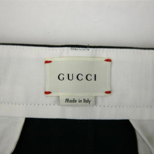 Gucci Navy W Stretch Cotton Gabardine Pant W/Web 12 Years 452284 4277 Groomsman Gift Image 6