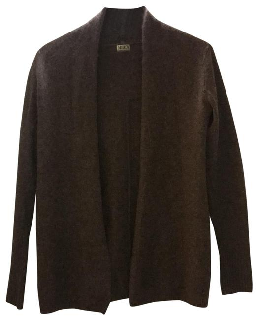 Preload https://img-static.tradesy.com/item/25149994/14th-and-union-brown-cashmere-cardigan-size-4-s-0-1-650-650.jpg
