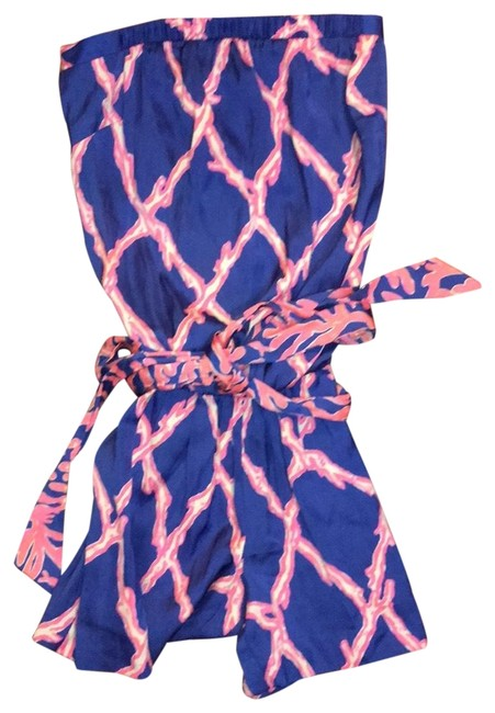 Preload https://img-static.tradesy.com/item/25150050/lilly-pulitzer-blue-and-pink-ritz-romperjumpsuit-0-1-650-650.jpg