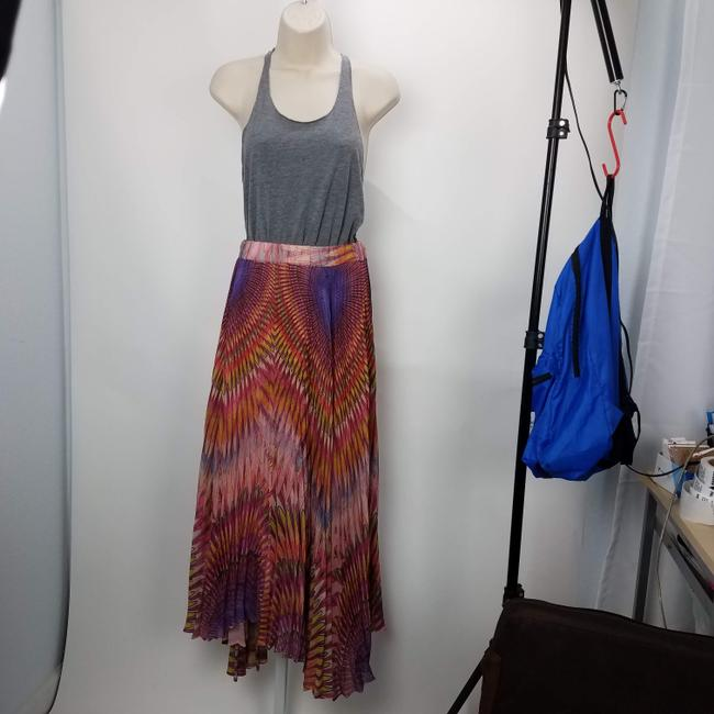 Twelve by Twelve La Colorful Unique Fashion Maxi Skirt Multicolor Image 2