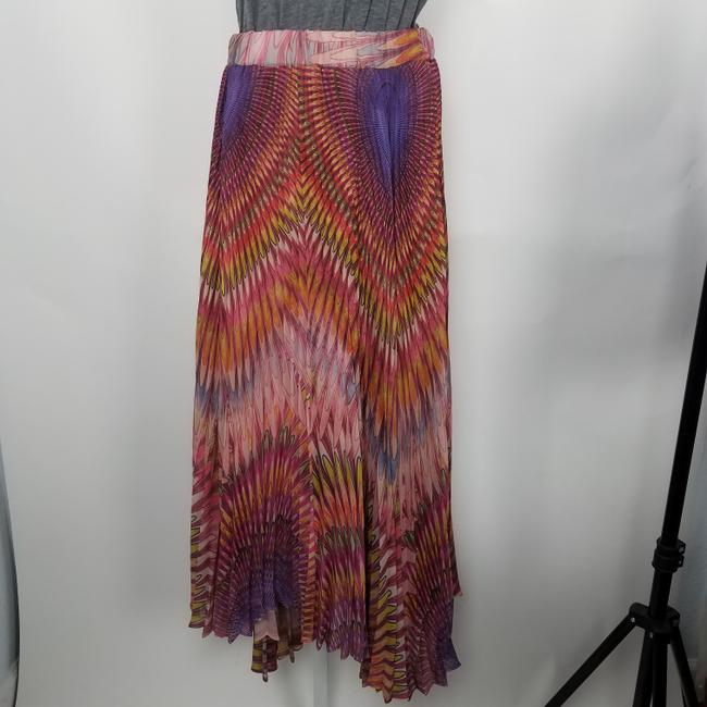 Twelve by Twelve La Colorful Unique Fashion Maxi Skirt Multicolor Image 3