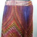 Twelve by Twelve La Colorful Unique Fashion Maxi Skirt Multicolor Image 6
