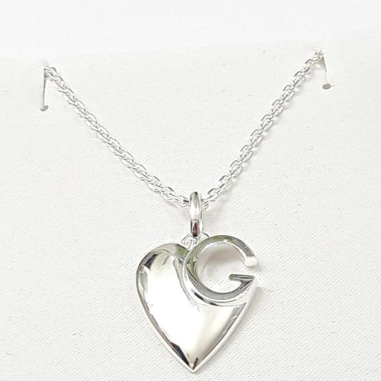 Gucci Gucci sterling silver g Charlotte heart necklace. 16 in Image 2