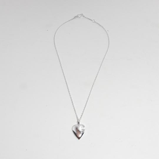 Gucci Gucci sterling silver g Charlotte heart necklace. 16 in Image 4