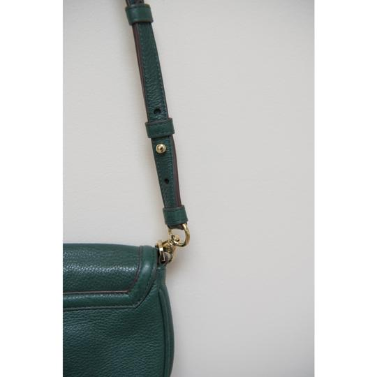 Tory Burch Leather Textured Adjustable Strap Cross Body Bag Image 4