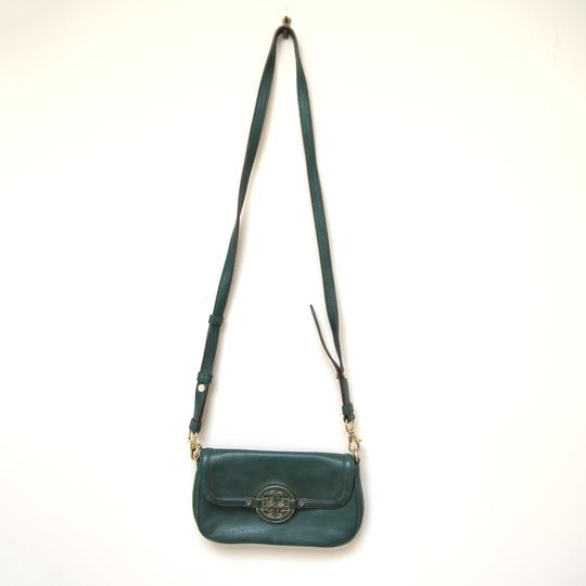 Tory Burch Leather Textured Adjustable Strap Cross Body Bag Image 7