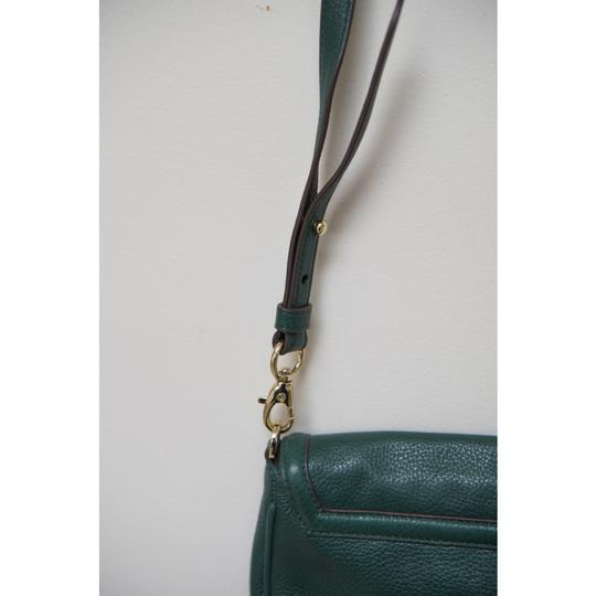 Tory Burch Leather Textured Adjustable Strap Cross Body Bag Image 8