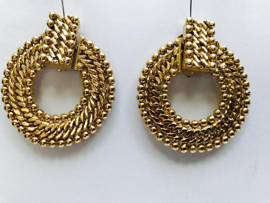 Chanel inspired Chanal Inspired Gold Wovenby Image 1