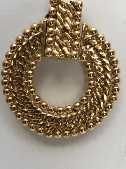 Chanel inspired Chanal Inspired Gold Wovenby Image 3