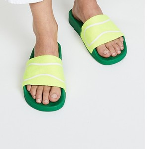 Tory Sport by Tory Burch Fluo yellow Sandals