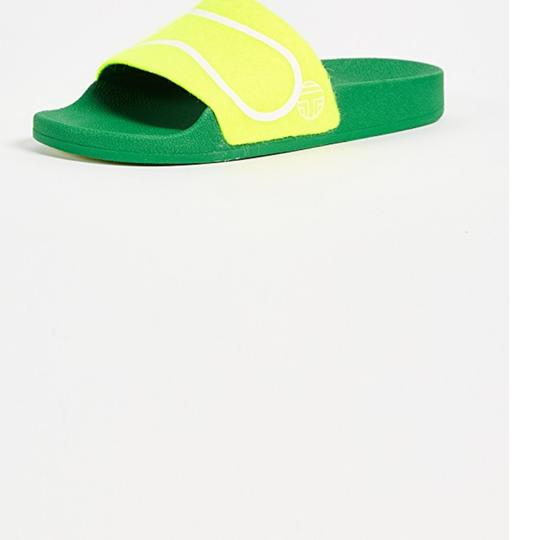 Tory Sport by Tory Burch Fluo yellow Sandals Image 2