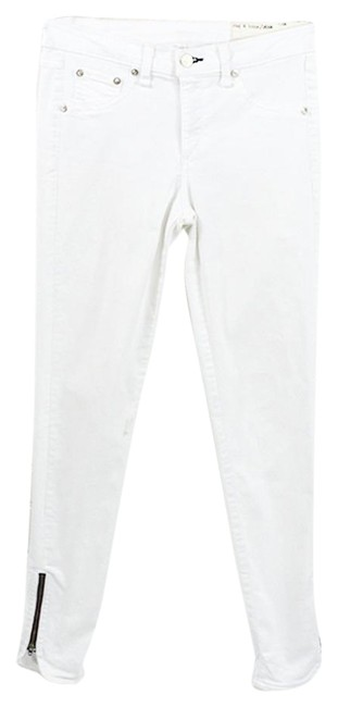 Item - White Light Wash 'bright #127-9 Skinny Jeans Size 27 (4, S)