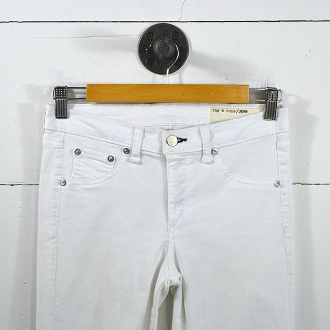 Rag & Bone #zipper #spring #casual #usa Skinny Jeans-Light Wash Image 1
