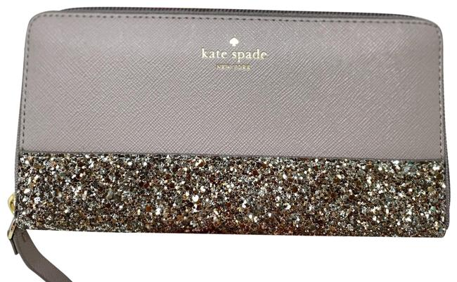 Item - Greta New with Tag New York Neda Court Wallet Cityscape Grey Wristlet