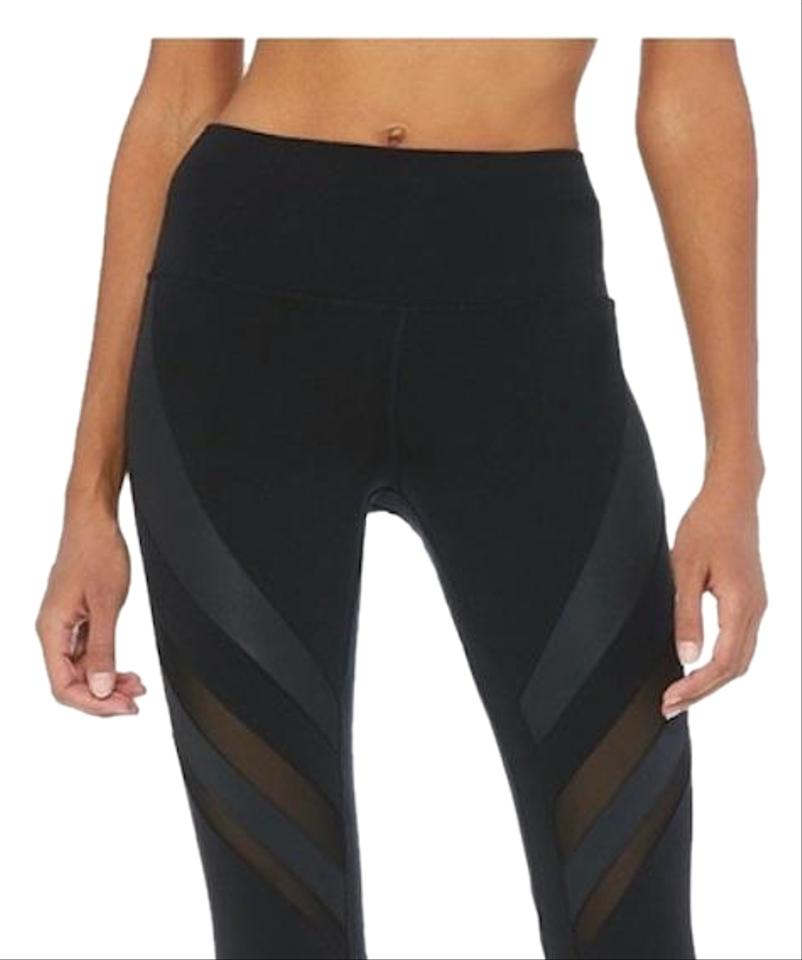 ea85bf1877 Alo Black High Waisted Epic Activewear Bottoms Size 00 (XXS, 24 ...