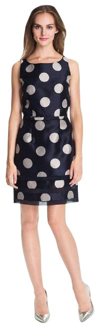Item - Blue New Polka Dot Short Cocktail Dress Size 8 (M)