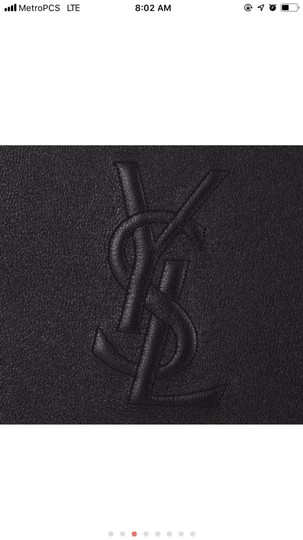 Saint Laurent black Clutch Image 3