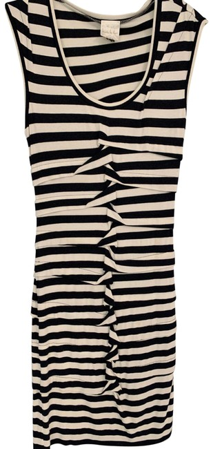 Preload https://img-static.tradesy.com/item/25150963/nicole-miller-blue-and-white-striped-burke-jersey-mid-length-cocktail-dress-size-4-s-0-1-650-650.jpg