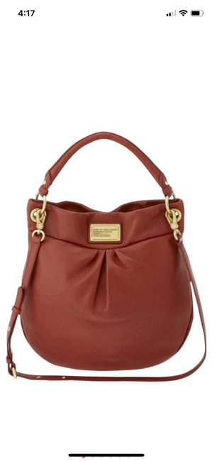 Item - Crossbody Large Bag. Perfect Condition. Perissimon Red Leather Hobo Bag