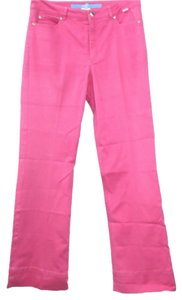 ESCADA Sport Fuschia Stretch Jeans Straight Pants DAR