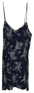 Old Navy short dress Blue Floral on Tradesy