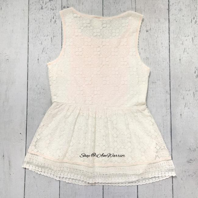 Anthropologie Top ivory Image 5
