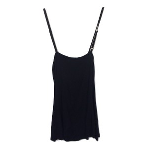 Lipsy Scoop Neck Silk Sleeveless European Top Black