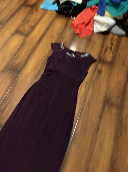 Purple Maxi Dress by Vince Camuto Image 11