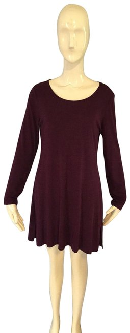 Preload https://img-static.tradesy.com/item/25151247/eileen-fisher-plum-tunic-size-4-s-0-1-650-650.jpg