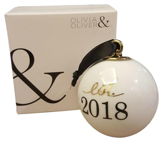 Preload https://img-static.tradesy.com/item/25151304/nordstrom-white-olivia-and-oliver-est-2018-ornament-new-wedding-keepsake-0-1-540-540.jpg