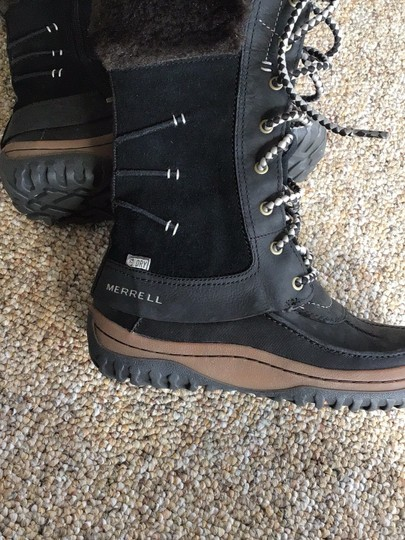 Merrell black/brown Boots Image 4