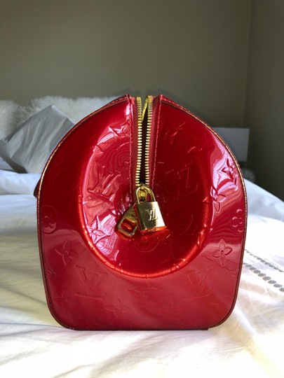 Louis Vuitton Satchel in Red Vernis Image 1