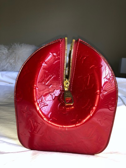 Louis Vuitton Satchel in Red Vernis Image 3