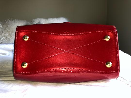 Louis Vuitton Satchel in Red Vernis Image 4