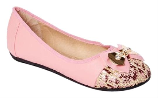 Preload https://img-static.tradesy.com/item/25151371/pink-b-2293-women-s-bow-buckle-ballet-flats-size-us-85-regular-m-b-0-1-540-540.jpg