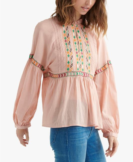 Lucky Brand Top peach Image 2