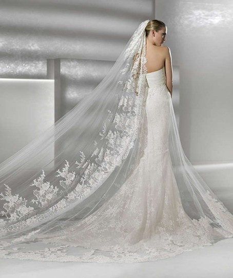 Easy Simple Non Traditional Wedding Dresses: La Sposa Off White Tulle And Lace Denia Traditional