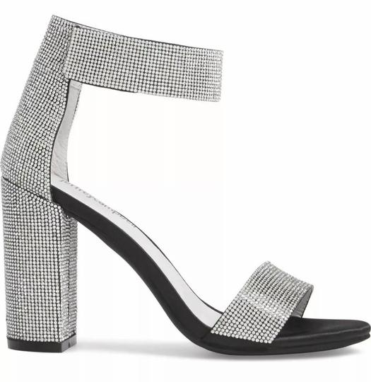 Jeffrey Campbell Black and silver Platforms Image 1