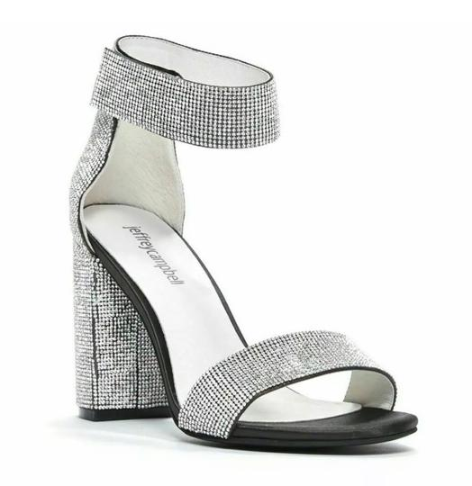 Jeffrey Campbell Black and silver Platforms Image 3