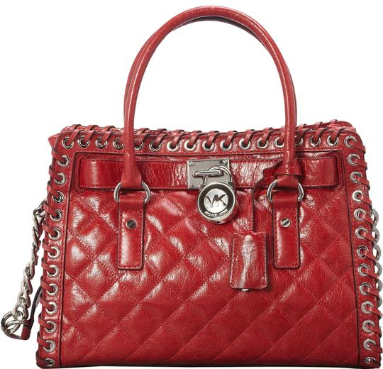 Preload https://img-static.tradesy.com/item/25151453/michael-kors-hamilton-east-west-hippie-grommet-quilted-whipped-dark-red-leather-satchel-0-1-540-540.jpg