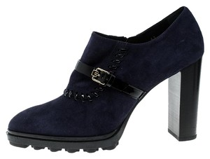 Tod's Suede Blue Boots