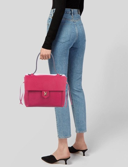 Louis Vuitton Satchel in Fuchsia Image 3